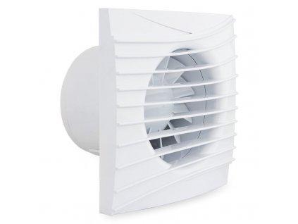 Tichý ventilátor domový 90m3/h 100SILENT guličkové ložisko