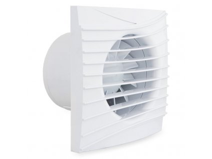 Tichý ventilátor domový 90m3/h 100SILENTMT guličkové ložisko 4 funkcie