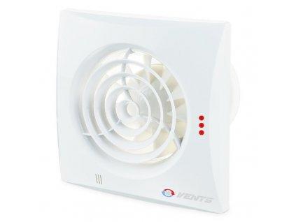 Tichý ventilátor domový 185m3/h 125QUIET guličkové ložisko