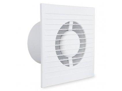 Ventilátor domový 90m3/h 100KMT časový spínač 4 funkcie
