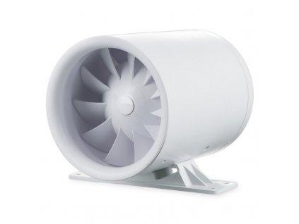 Ventilátor potrubný 100m3/h 100QUIETLINE-K s držiakom guličkové ložisko