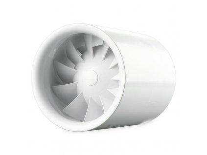 Ventilátor potrubný 100m3/h 100QUIETLINE-T časový spínač guličkové ložisko