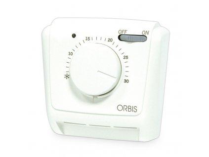 Mechanický izbový termostat na povrch ON/OFF 10A CLIMA MLI