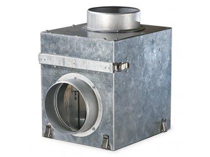 Filter s klapkou pre krbový ventilátor ø125 KFK125