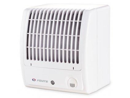 Radiálny domový ventilátor na povrch 98 m³/h 100CFTTURBO zvýšený výkon časový spínač
