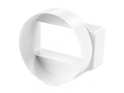 Vzduchový kruhovo-plochý prechod k ventilátorom ø100mm 1156