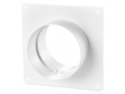 Kruhová ventilačná spojka ø100 príruba 151
