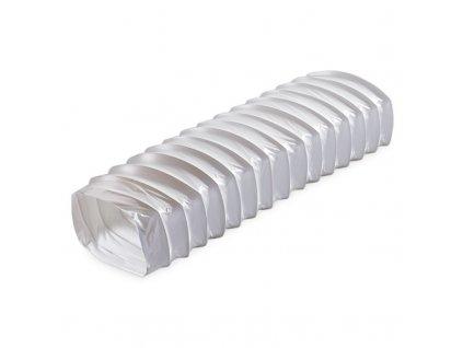 Ohybné ploché plastové potrubie 1m 55x110mm