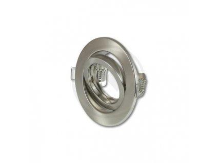Bodové svietidlo okrúhle výklopné matný satén PL4559
