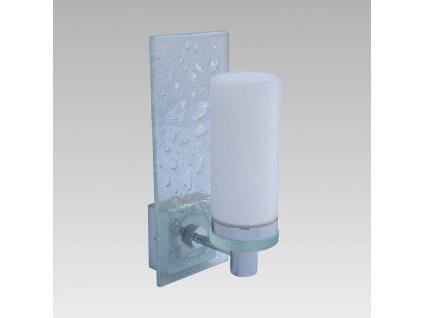 LYRICA kúpeľňové nástenné okrúhle svietidlo transparentné 225x90 1xG9 IP44 8002