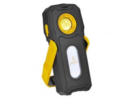 Ručné LED svietidlo nabíjacie USB s powerbankou 10+3W 600lm WL05R