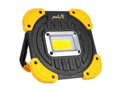 Ručné LED svietidlo nabíjacie USB s powerbankou 10W 1000lm WL06R