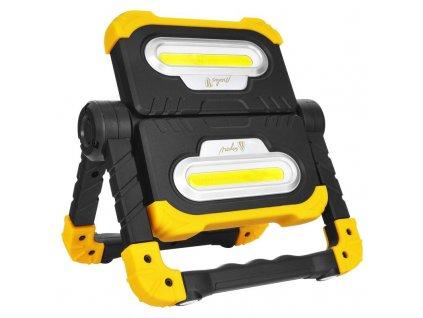 Ručné LED svietidlo nabíjacie USB s powerbankou 20W 1800lm WL07R