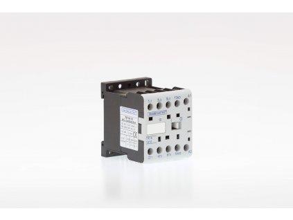 Miniatúrny stykač 9A cievka 24V AC 3xNO+1xNC TR1K0901B7 Tracon