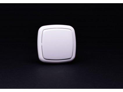 Vypínač č.7 Modul biely 4FN57577.901 Tesla