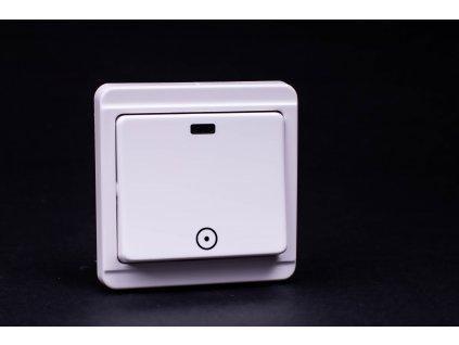 Zvončekové tlačítko Štandard 1/0S biele 4FN57518.2101 Tesla