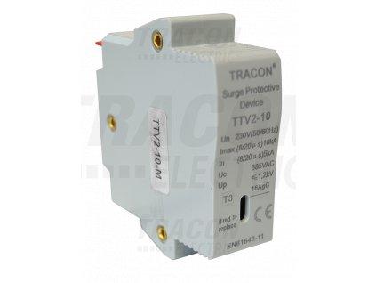 Vložka do zvodiča prepätia AC typ 2 230V 5/10kA 1P