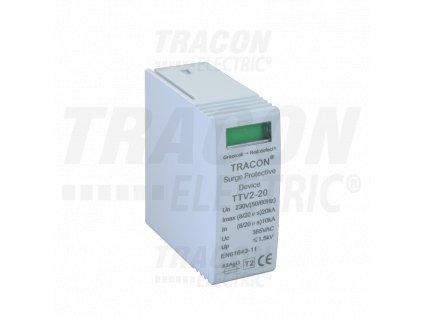 Vložka typ 2 do zvodiča prepätia pre jednosmerný prúd 600V DC
