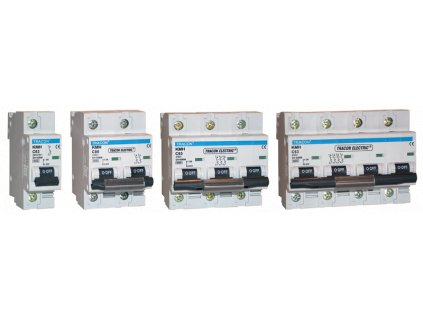 Výkonový istič 2P C80A 6kA KMH-280