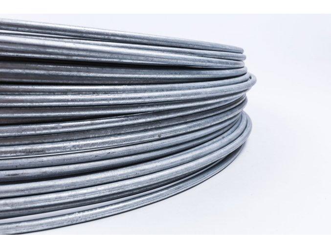 Bleskozvodový drôt guľatina 10 FeZn, 1kg=cca 1,61m ZIN