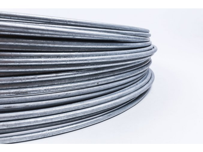 Bleskozvodový drôt guľatina 10 FeZn, 1kg=cca 1,61m