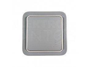 Vypínač IP55 LEGRAND striedavý č.6 - šedá