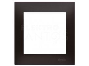 Rámček Simon54 PREMIUM 1-násobný - antracitový matný