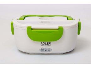 Vyhrievací elektrický box na jedlo Adler AD4474 zelený 230V