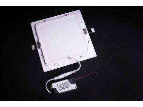 LED panel štvorcový na zapustenie 15W 4000K biely SAD L243634