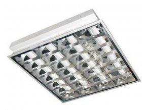 Rastrové svietidlo LED 4x18 na zapustenie 60x60 cm AN30