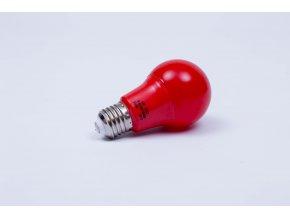 Červená LED žiarovka 7W E27 6500K AN92 Fomsi