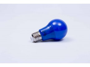 Modrá LED žiarovka 7W E27 6500K AN94
