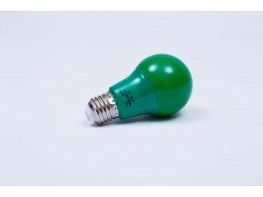 Zelená LED žiarovka 7W E27 6500K AN95