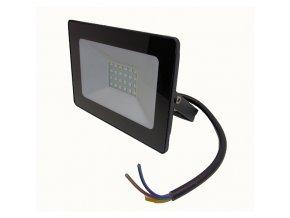 Reflektor SMD LED 20W - čierny 4500K