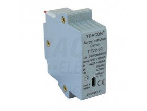 vložka AC zvodiča prepätia, typ 2 230 V, 50 Hz, 30/60 kA (8/20 us), 1P