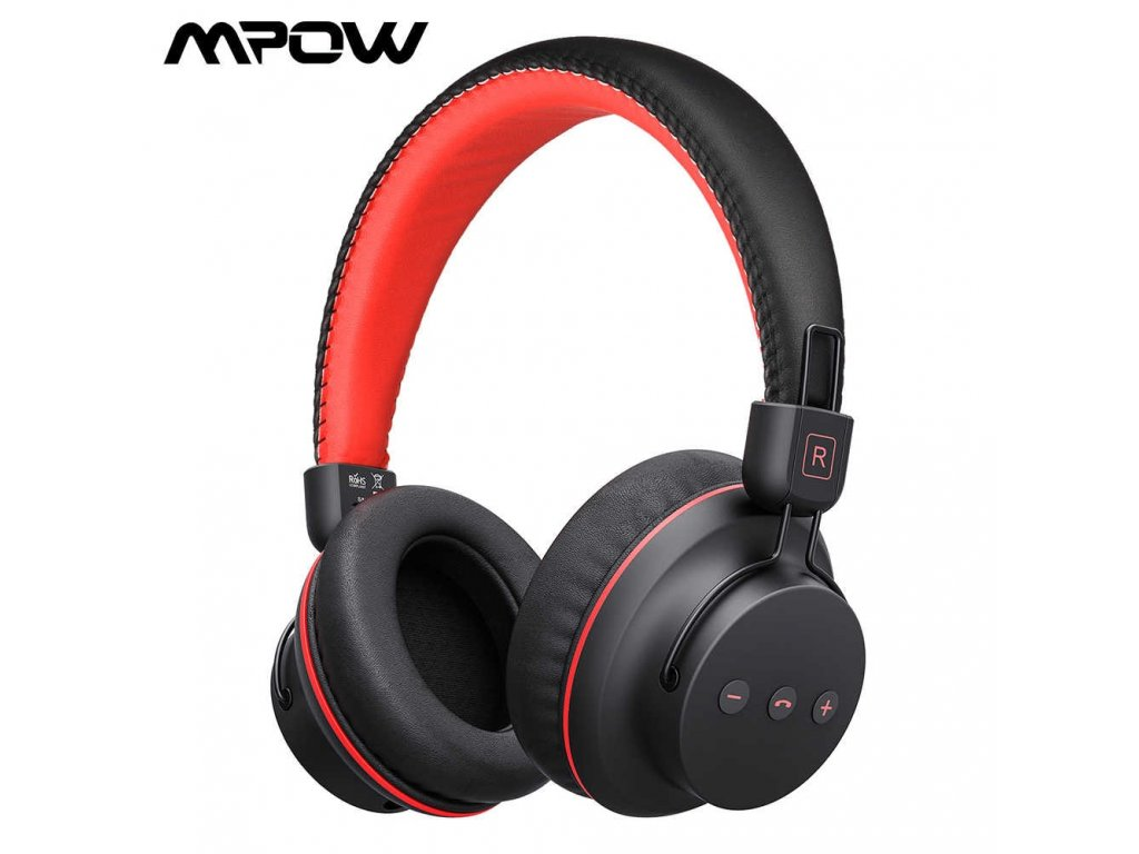 Mpow H1 Wireless Bluetooth Headphones With Mic Soft Ear Pads Noise Canceling Headset Earphone Hands Free.jpg q50