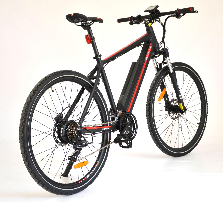 Trekové a crossové elektrobicykle