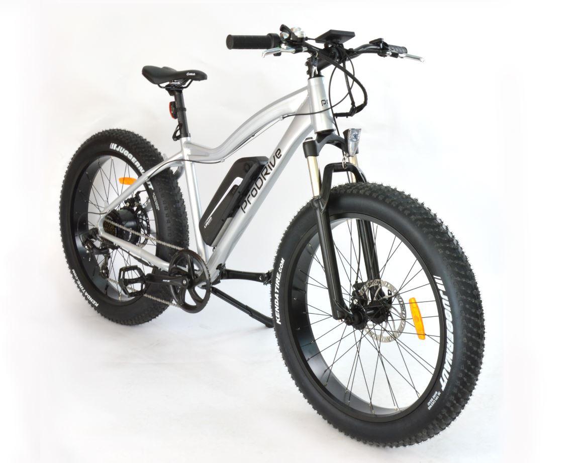 FAT e-biky s extra širokými pneumatikami