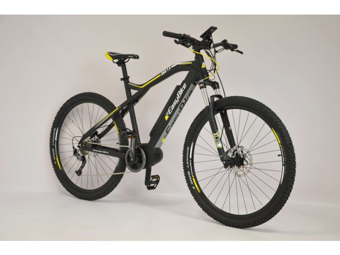"""Easybike EGO 1.0, 29"""" , stredový motor, batéria 490Wh, čierno-žltý, 2018"""