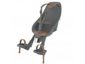 [212672] Predná sedačka na bicykel s adaptérom (Bincho Čierna Kurumi Hnedá)