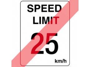 piktogram 25kmh