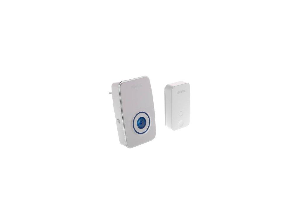 Domovní bezdrátový zvonek Sencor RDB 101 s bezbateriovým piezo tlačítkem