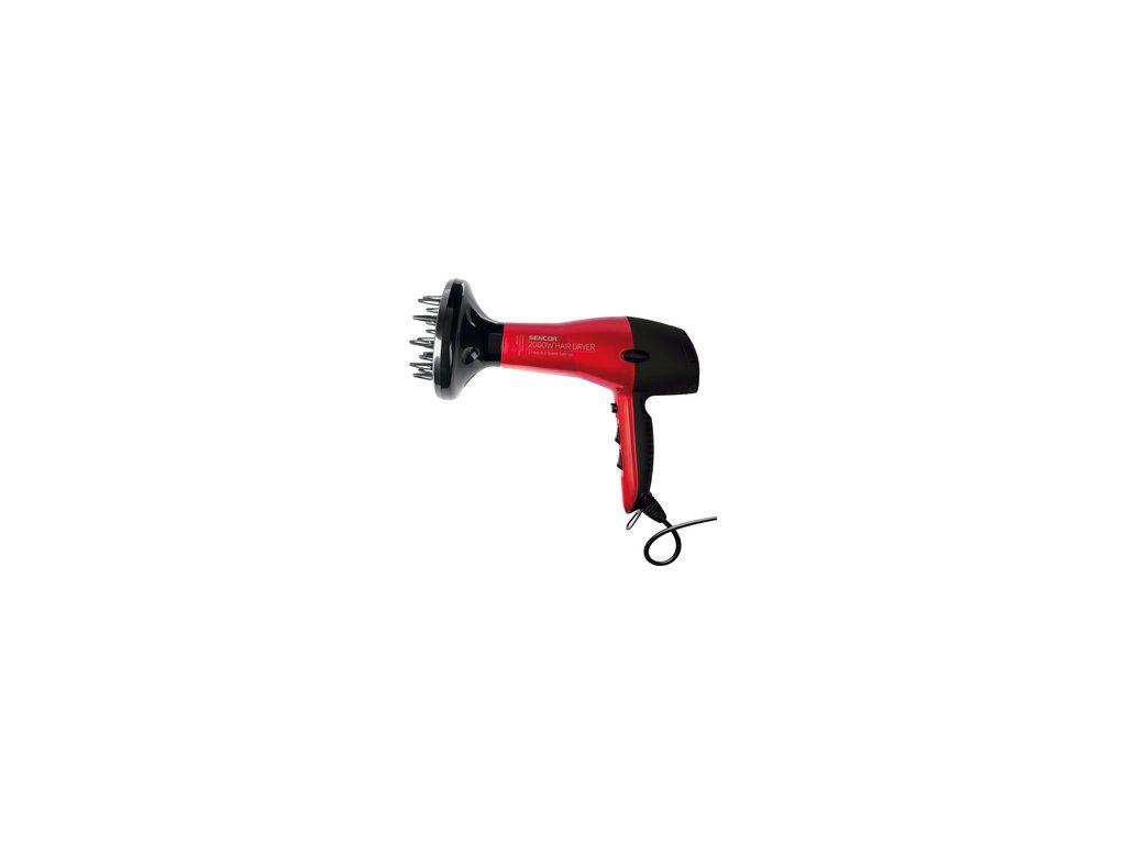 Vysoušeč vlasů /fén/ Sencor SHD 6701RD červený 2000W