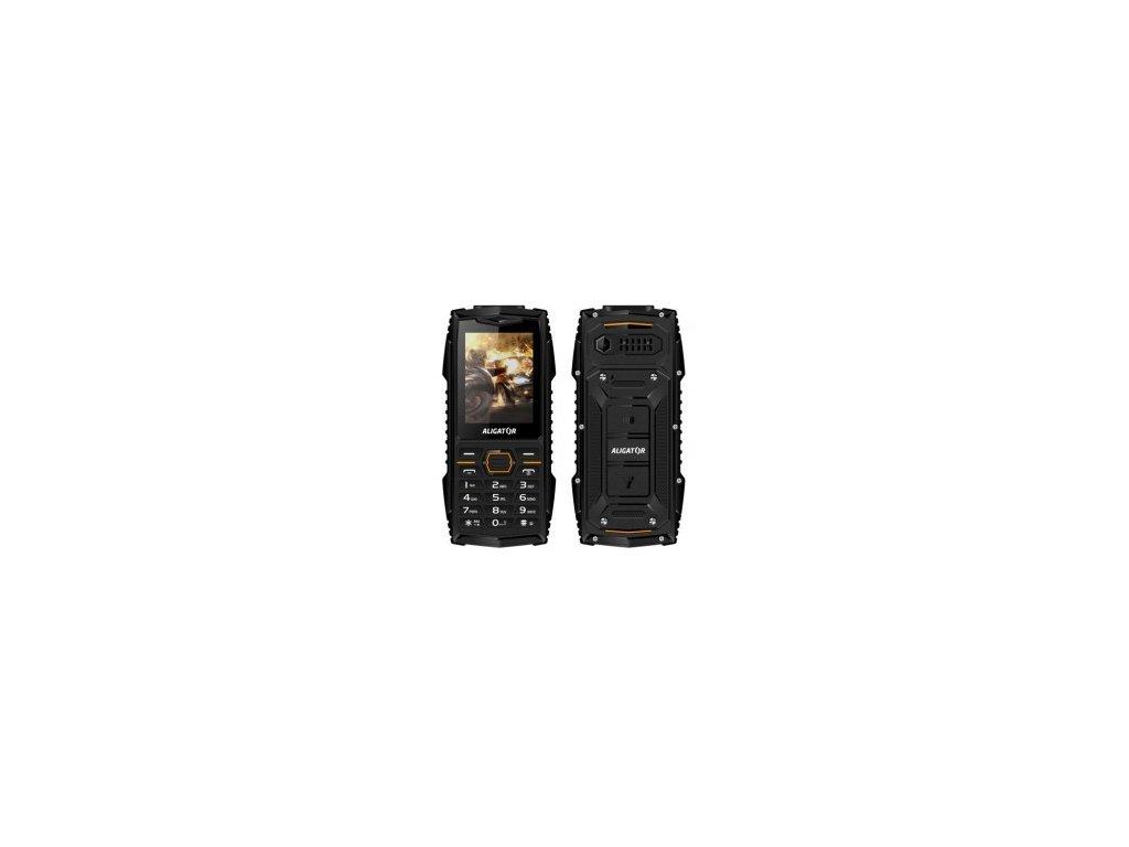 Odolný telefon Aligator R15 eXtremo černý IP68 vodotěsný, prachotěsný