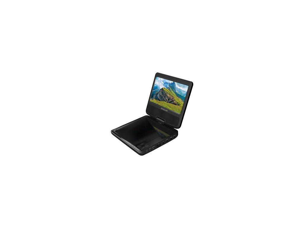 """Přenosný DVD přehrávač Sencor SPV 2722 Black USB 7""""  DOPRAVA ZDARMA"""