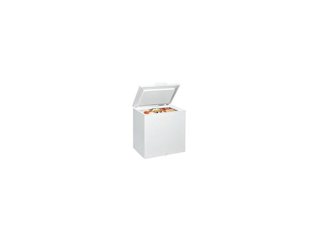Pultový /truhlicový/ mrazák Whirlpool WHS 2121 204l