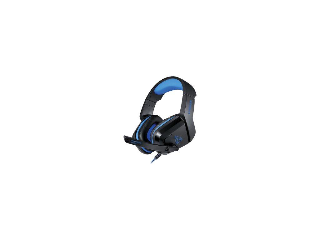 Herní drátová sluchátka s mikrofonem Yenkee Guerrilla YHP 3005 čtyřpoziční jack