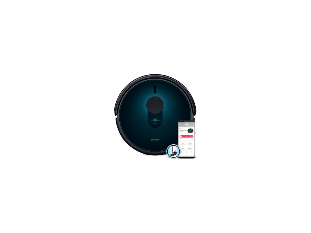 Robotický vysavač s vytíráním Sencor SRV 9250BK  DOPRAVA ZDARMA