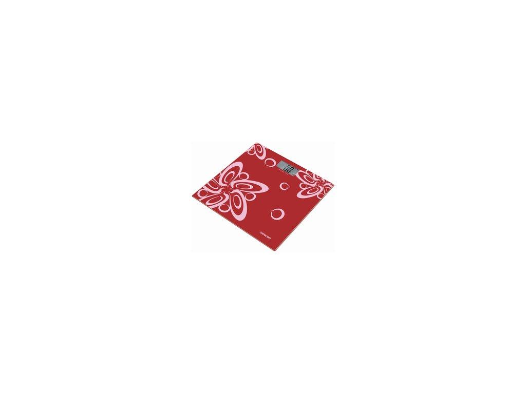 Osobní váha Sencor SBS 2507RD červená