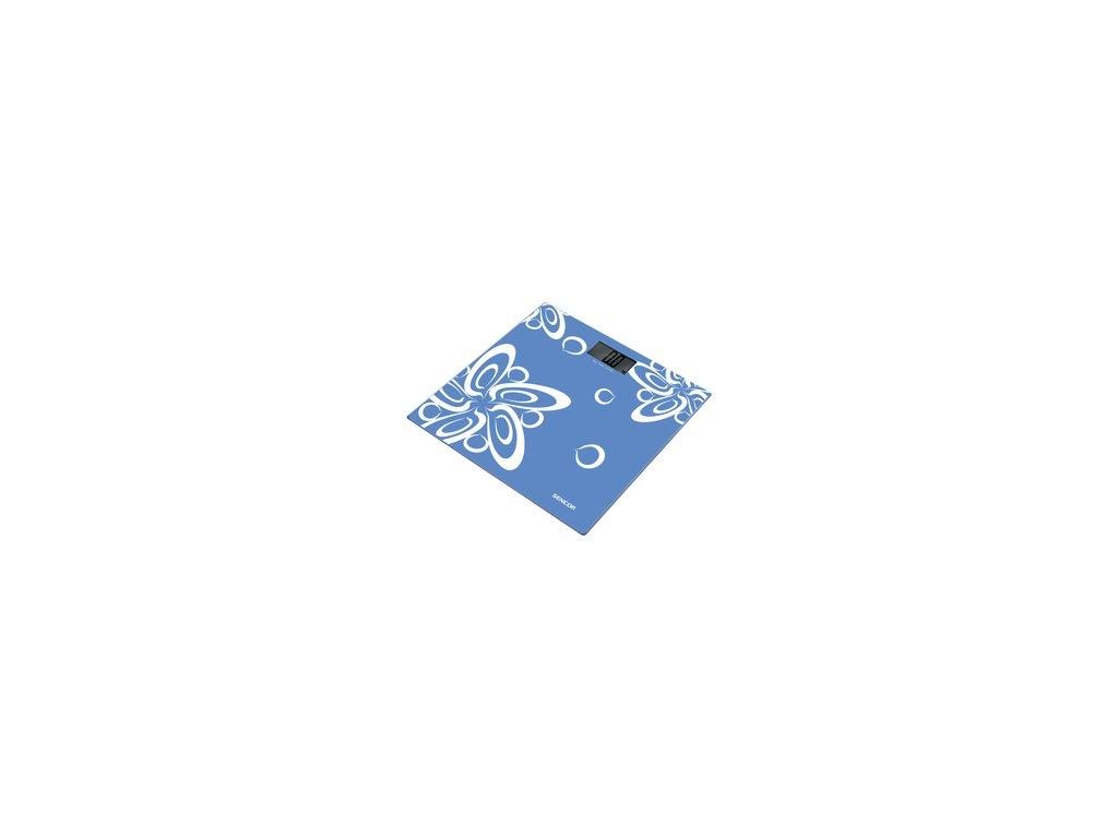 Osobní váha Sencor SBS 2507BL modrá